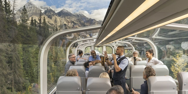 Luxury Train Travel with Rocky Mountaineer