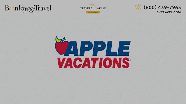 Virtual Showcase - Apple Vacations