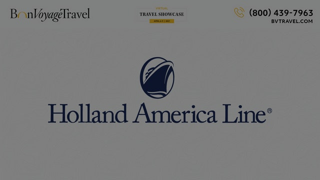 Virtual Showcase - Holland America Line