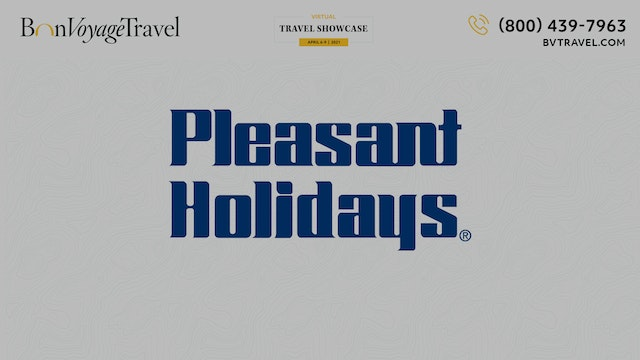 Virtual Showcase - Pleasant Holidays