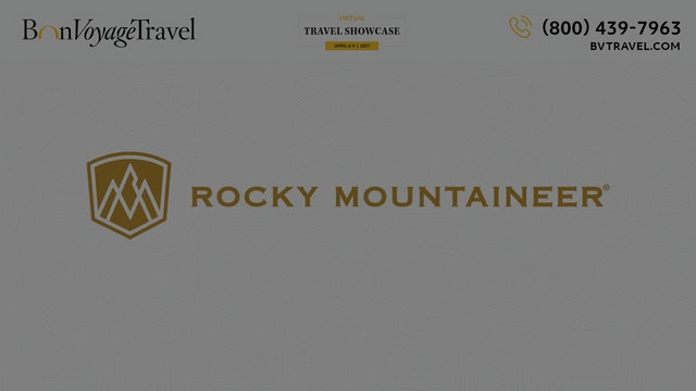 Virtual Showcase -  Rocky Mountaineer