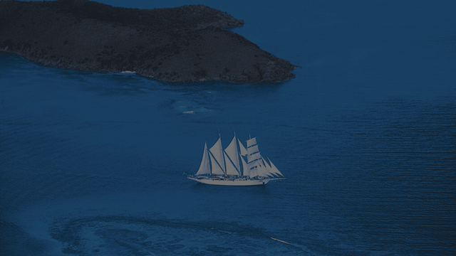 Small Ship Sailing - Star Clippers